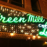 Photo taken at Green Mill Cocktail Lounge by lenny n. on 6/18/2011