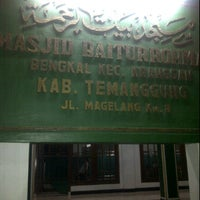 Photo taken at Masjid Baiturohmah by Mas T. on 12/15/2011