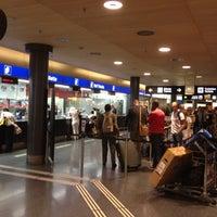 Photo taken at Zurich Airport Railway Station by Mateusz on 7/9/2012