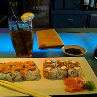 Photo taken at Blue Pacific Sushi & Grill by Rogue D. on 4/4/2012