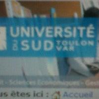 Photo taken at Université de Toulon by Etienne L. on 10/6/2011