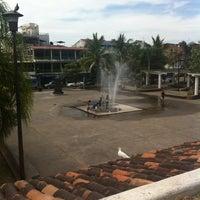 Photo taken at Parque Hidalgo by Fernando C. on 3/31/2012