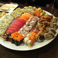 Photo taken at Sushi Palace by Cy N. on 10/25/2011