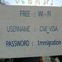 Photo taken at Chiang Mai Immigration by Bill D. on 2/16/2011