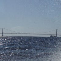 Photo taken at Straits of Mackinac by Erica H. on 6/17/2012