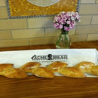 Photo taken at Acme Bread Company by Christina H. on 8/18/2012