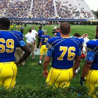 Photo taken at Delaware Stadium by Erin S. on 9/24/2011