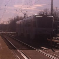 Photo taken at Baltimore Highlands Light Rail Station by James F. on 12/3/2011