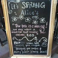 Photo taken at Alice's Tea Cup by Grace N. on 3/17/2012