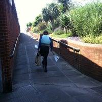 Photo taken at Exmouth Railway Station (EXM) by Elena on 7/27/2012