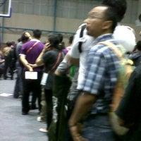 Photo taken at Sekretariat Sea Games Jakarta by Fatima D. on 11/23/2011