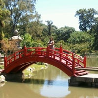 Photo taken at Jardín Japonés by Fernanda V. on 12/26/2011