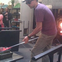 Photo taken at Seattle Glassblowing Studio & Gallery by John P. on 5/11/2012