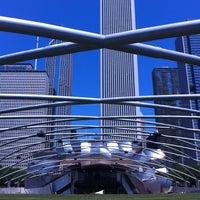 Photo taken at Jay Pritzker Pavilion by Luis G. on 7/9/2012