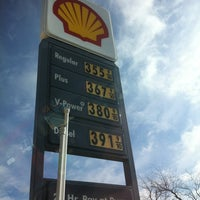 Photo taken at Shell by Michelle L. on 2/22/2012