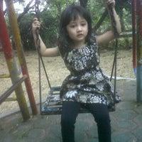 Photo taken at Kompleks AURI Waringin Permai by Edo A. on 9/8/2011