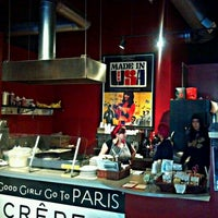 Photo taken at Good Girls Go To Paris Crepes by J.H. M. on 10/30/2011