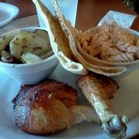 Photo taken at California Chicken Cafe by Amanda C. on 10/22/2011