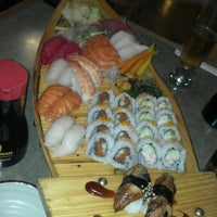 Photo taken at Wasabi Sushi Bar by Sarah B. on 6/8/2012