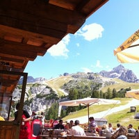 Photo taken at Rifugio Faloria by Nicolò on 8/11/2011