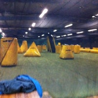 Photo taken at Paintball Area Neustadt by Max Florian H. on 12/6/2011