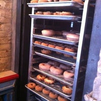Photo taken at The Doughnut Vault by Lorrie B. on 9/28/2011
