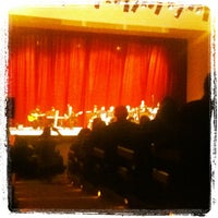 Photo taken at Teatro Municipal Severino Cabral by Leonardo A. on 7/8/2012