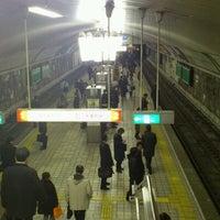 Photo taken at Midosuji Line Yodoyabashi Station (M17) by Yoshiyuki Nagano on 1/24/2012