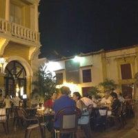 Photo taken at Plaza San Pedro Claver by Juan A. on 1/3/2012