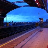 Photo taken at Metro Rojas Magallanes by Patricio L. on 8/18/2011