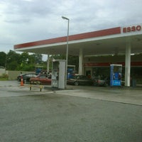 Photo taken at Esso by Ryo Y. on 10/30/2011