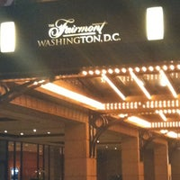 Photo taken at The Fairmont Washington, D.C. by Janelle B. on 8/20/2012