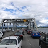 Photo taken at Evergreen Point Floating Bridge by Scott P. on 6/17/2012
