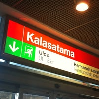 Photo taken at Kalasatama / Fiskehamnen by Marja K. on 6/20/2012