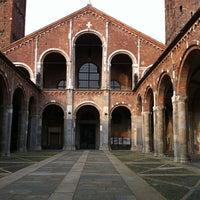 Photo taken at Basilica di Sant'Ambrogio by Protasio M. on 5/31/2012