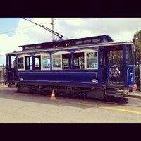 Photo taken at Tramvia Blau by Alessandro B. on 7/5/2012