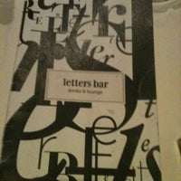 Photo taken at Letters Bar by Alexandru C. on 2/11/2011