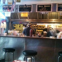 """Photo taken at Paul's """"Da Burger Joint"""" by Olivier D. on 10/13/2011"""