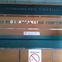 Photo taken at Kantor Kecamatan Cihideung by Rikki R. on 9/23/2011