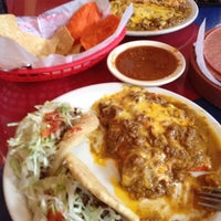 Photo taken at Jacala Mexican Restaurant by Rhiannon E. on 3/21/2012