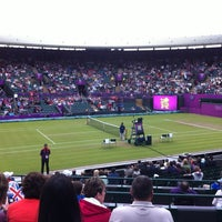 Photo taken at The All England Lawn Tennis Club by ahmed on 8/1/2012