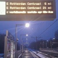 Photo taken at Metrostation Meijersplein by JPVDW on 12/29/2010