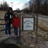 Photo taken at Springervale Farm by Linda E. on 1/3/2012