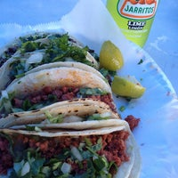 Photo taken at Lencho's Tacos @ Maxwell Street Market by Dominick M. on 11/6/2011