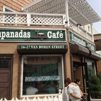 Photo taken at Empanadas Cafe by Christopher S. on 3/24/2012
