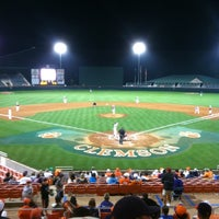 Photo taken at Doug Kingsmore Stadium by John R. on 4/4/2012