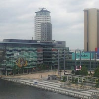 Photo taken at Salford Quays by Ken B. on 6/5/2012
