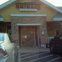 Photo taken at Outback Steakhouse by Joseph N. on 7/31/2012