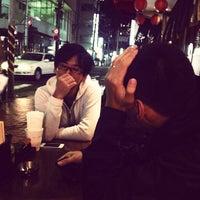 Photo taken at 博多串焼き 九州バリ鉄 by Shimojima H. on 11/12/2011