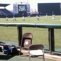 Photo taken at Doug Kingsmore Stadium by Christi M. on 3/11/2012